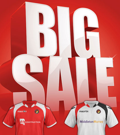 Even bigger sale for final home games