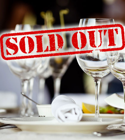 All sold out at Fleet's top table