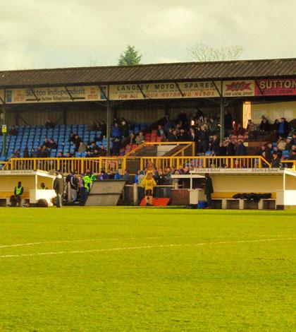 Sutton United 3 Fleet 1