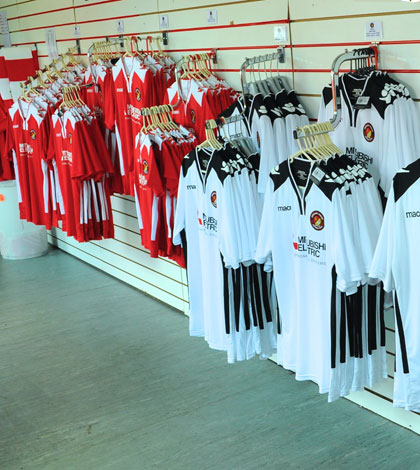 A tenner for shirts in kit clearance