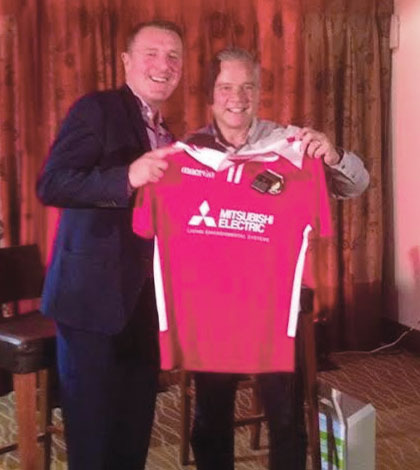 Fleet delighted with 275-shirt order