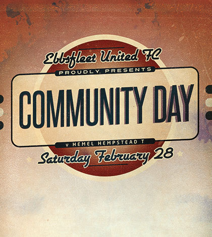 Roll up for Community Day