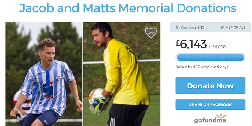Worthing United donations top £500