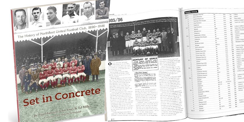 Available now: the History of Northfleet United book