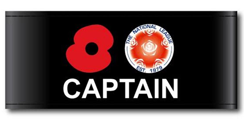 National League supports Poppy Appeal