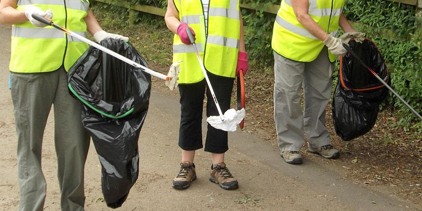 Fleet trio to support clean-up