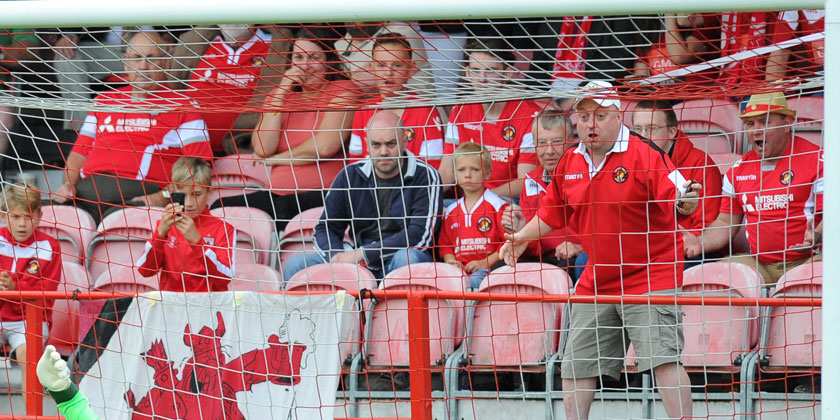 Club shop open Saturday for 'red wear'