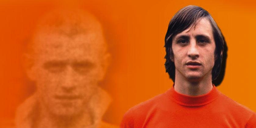 Johann Cruyff: how a former Fleet man kick-started his career