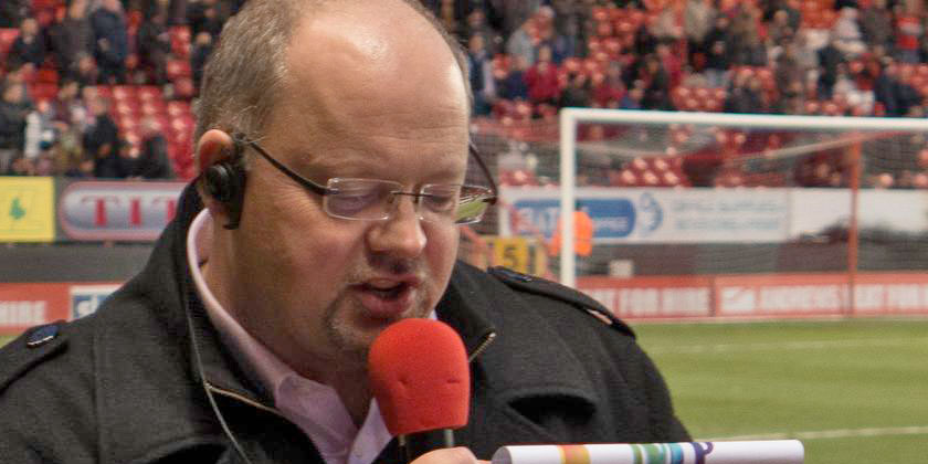 New pitch announcer for matchdays