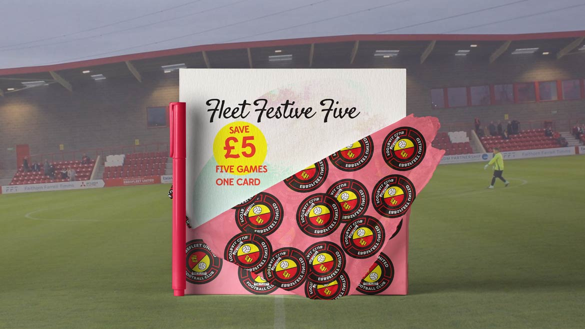 Festive Five mini-ticket launched