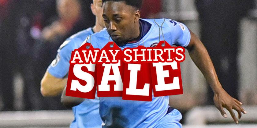 Away shirts on sale