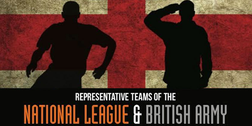 National League v British Army