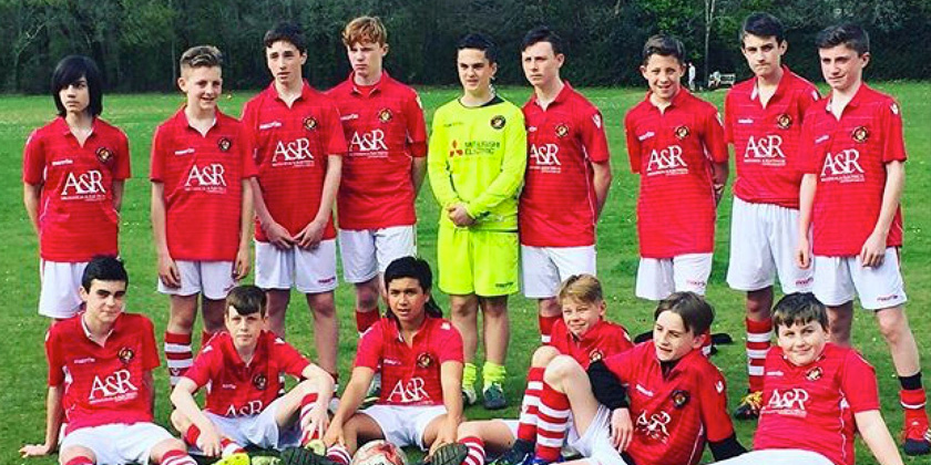U16s issue players appeal and youth section seeks sponsorship