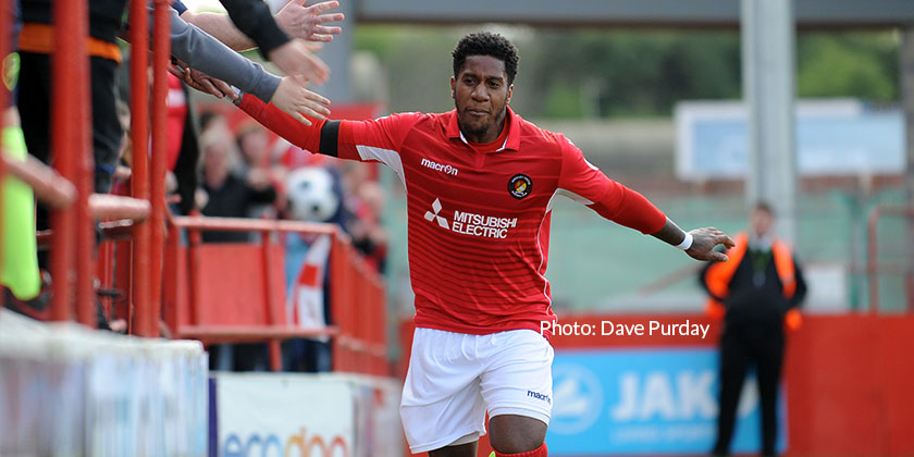 Bubb just a Stones' throw from Wembley as he joins Wealdstone