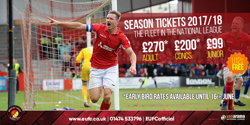 Fleet announce National League ticket prices