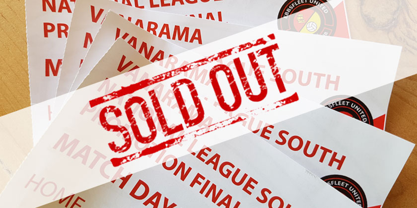 Promotion final : SOLD OUT