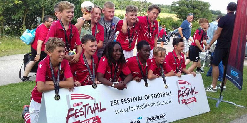 Fleet U12s crowned champion of champions!