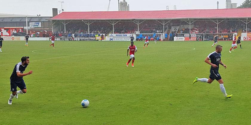 Fleet 1-1 Southend United