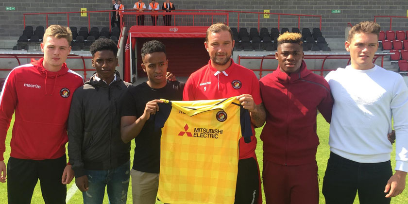 Academy prospects land contracts