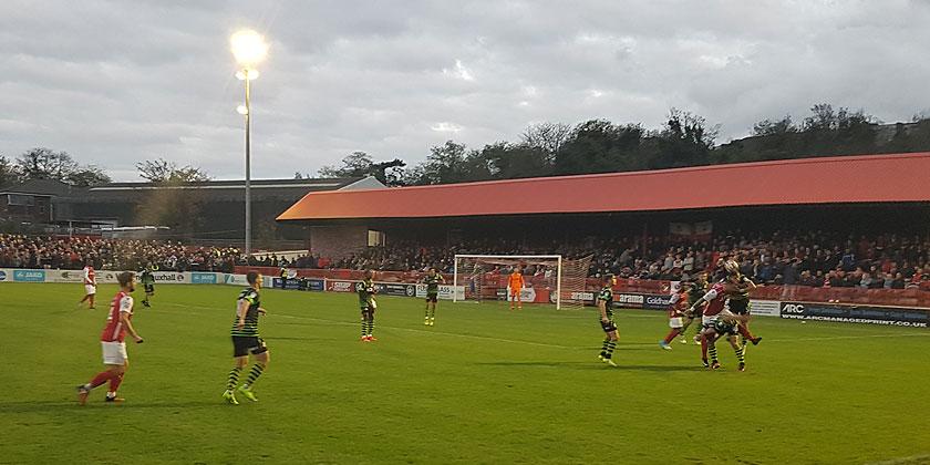 Fleet 2-6 Doncaster Rovers