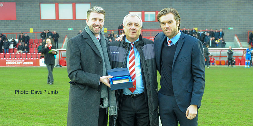 """""""This is a very special football club"""" – Peter Varney says thank you…"""