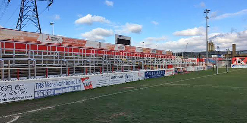 Swanscombe End to reopen for Woking game