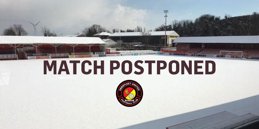Wrexham match postponed
