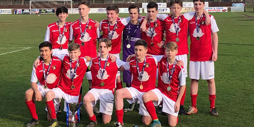 U14s lift Kent Reliance County Cup