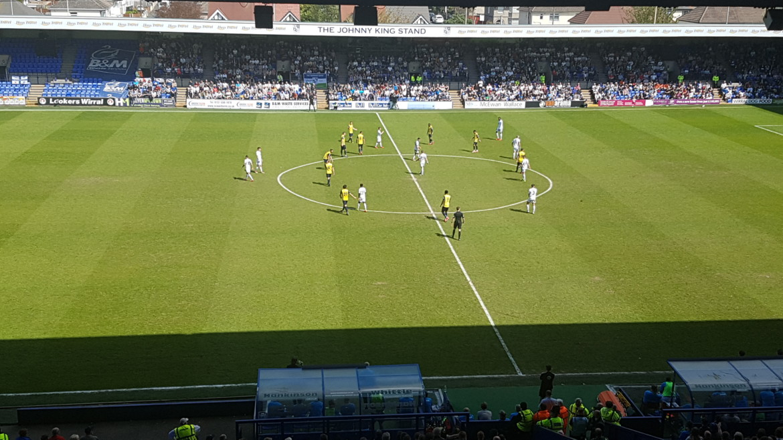 Tranmere Rovers 4-2 (aet) Fleet