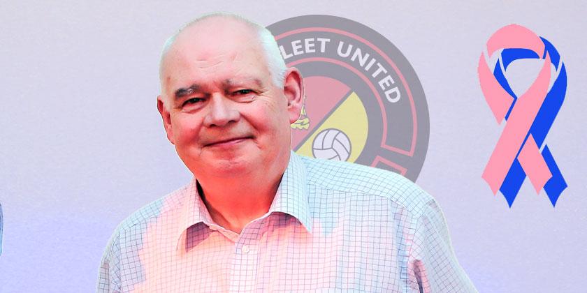 Peter Danzey seeks to raise awareness after operation