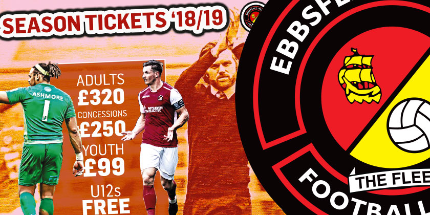 Season tickets remain on sale throughout summer