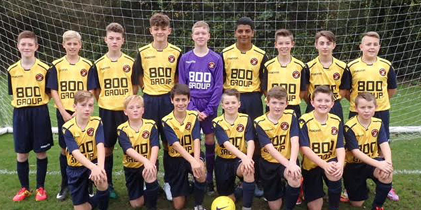 U13s follow U14s with a league-title triumph
