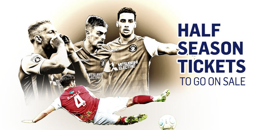 Half-season tickets go on sale