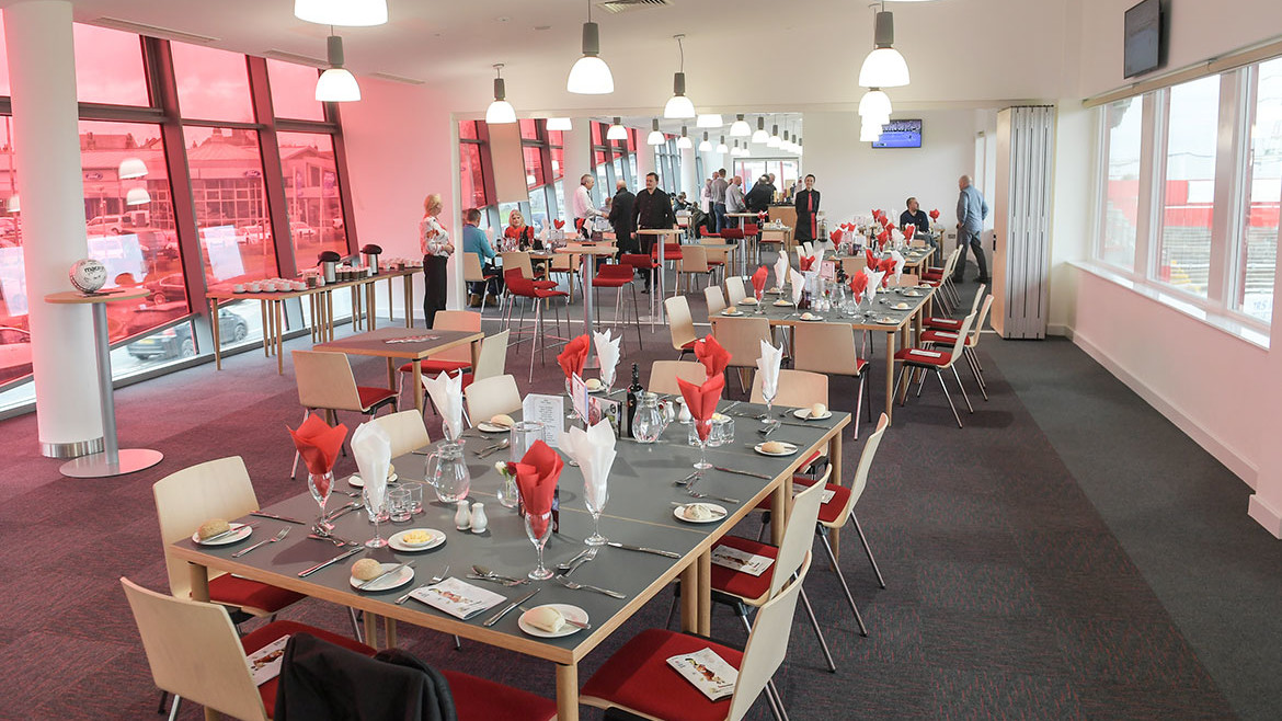Supporters restaurant booking now for March games