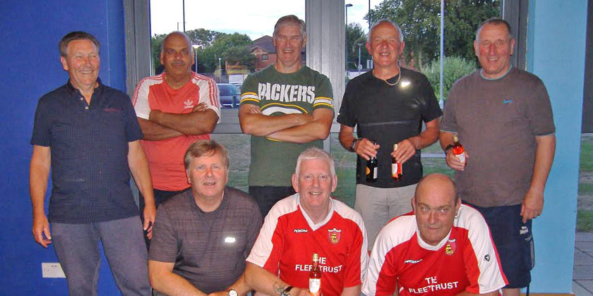 Walking footballers round off season with a fine win