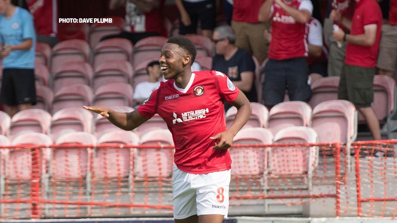 Ebou Adams goal footage
