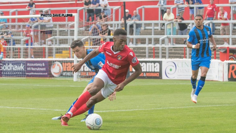 Ebou takes EFL chance with FGR