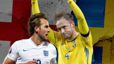 Watch England-Sweden on our big screen