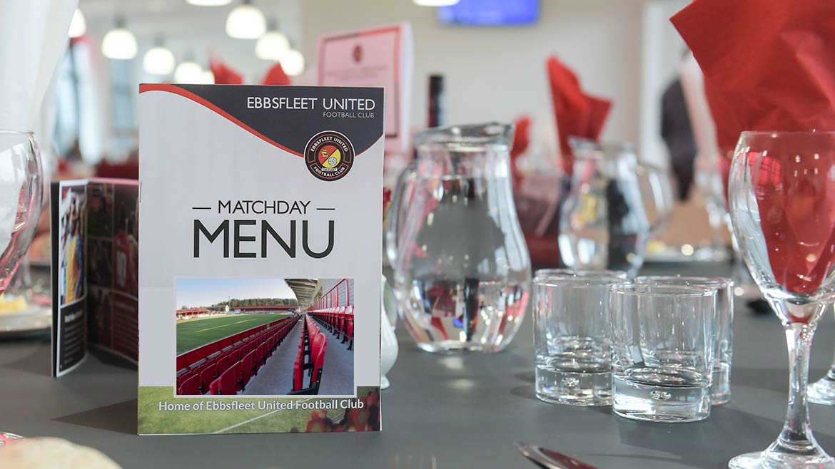 Book now for Supporters Restaurant v Havant and Bromley