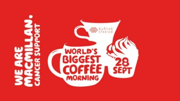 Fleet to support World's Biggest Coffee Morning this Friday