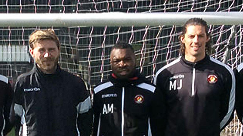 Coaching trio depart club