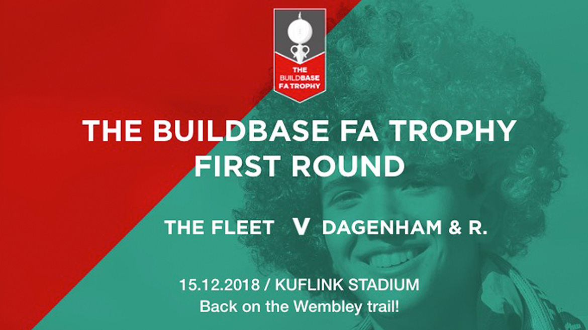 FA Trophy arrangements + Lounge open to all