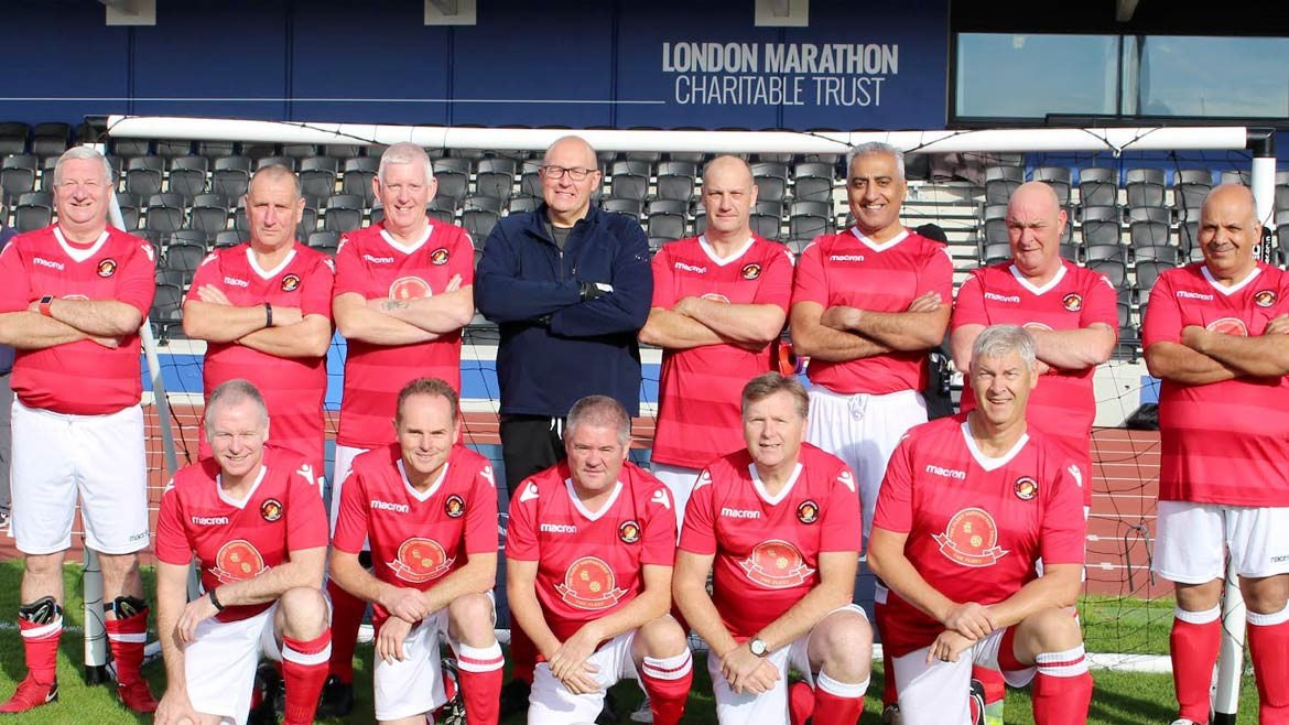 Walking Football team gets busy