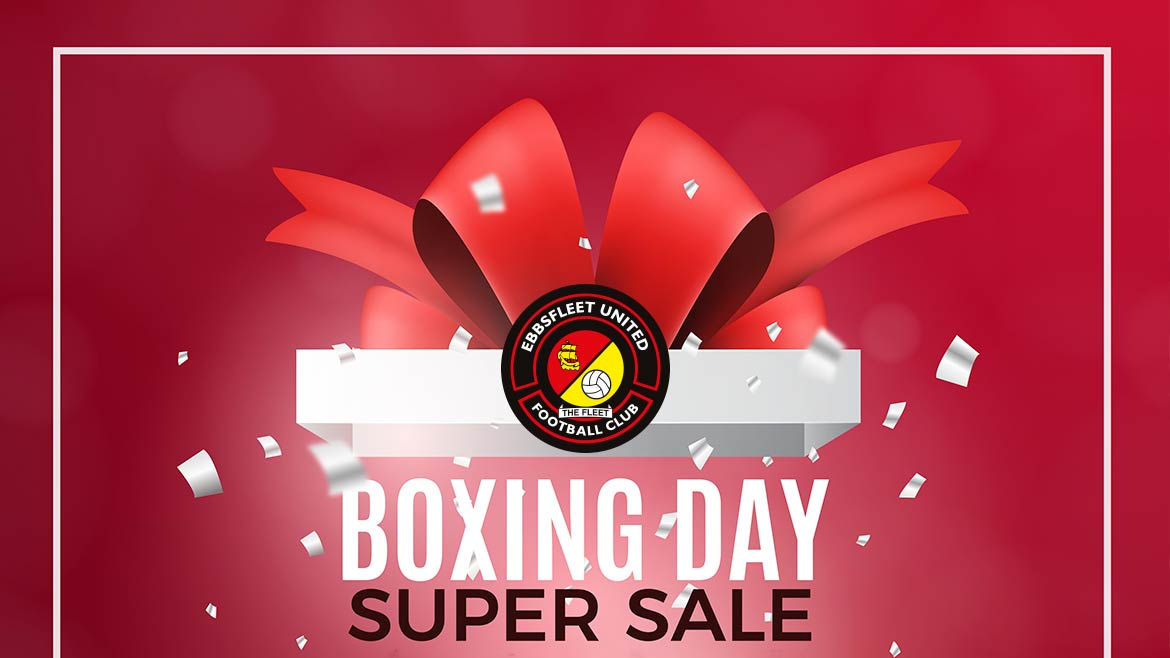 Boxing Day sale on now at the Fleet!