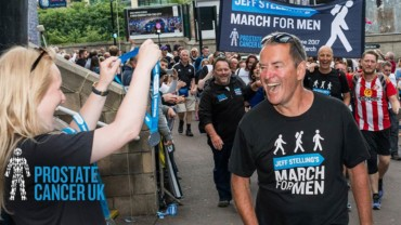 Jeff Stelling to take on four-nation march for Prostate Cancer