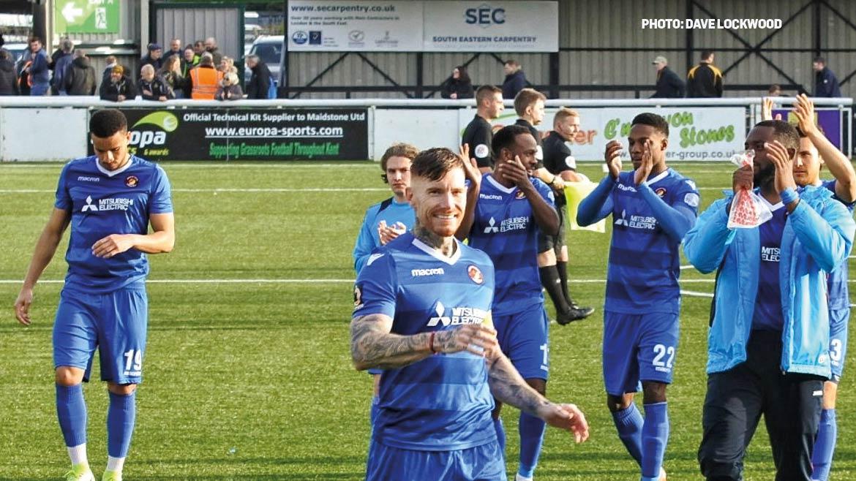 Maidstone United 0-2 Fleet