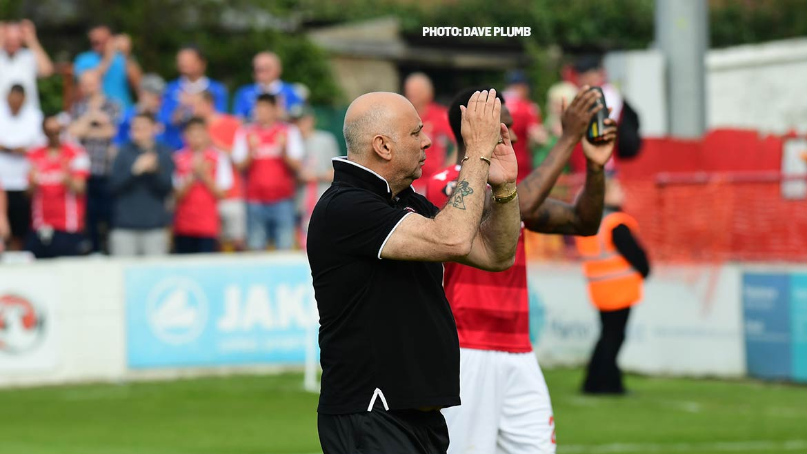 """""""It was Dover's day"""" says Hill as play-off hopes are dashed"""