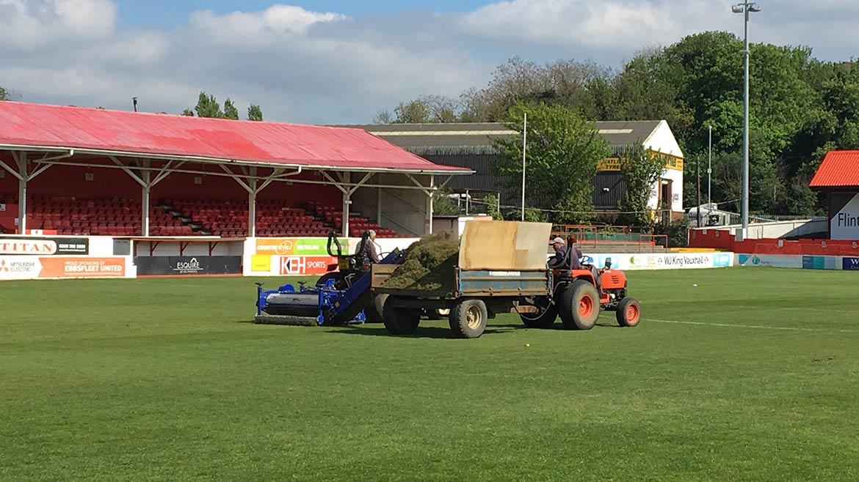 Pitch regeneration gets under way