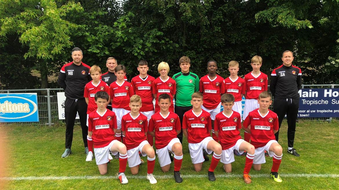 U13s take runners-up spot in Dutch tournament