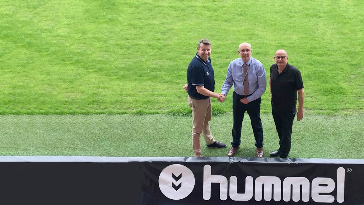 Fleet partner with Hummel in new kit and retail deal